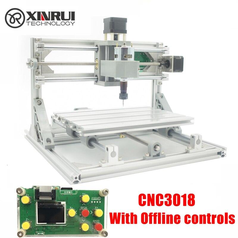 CNC3018 ER11, diy cnc machine de gravure, Pcb Fraiseuse, bois routeur, gravure laser, GRBL contrôle, cnc 3018, meilleurs jouets cadeaux