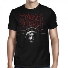 Carach Angren Liberty S M L XL XXL Official Tshirt Black Metal T-Shirt Comfortable t shirt Casual Short Sleeve Print 100% Cotton