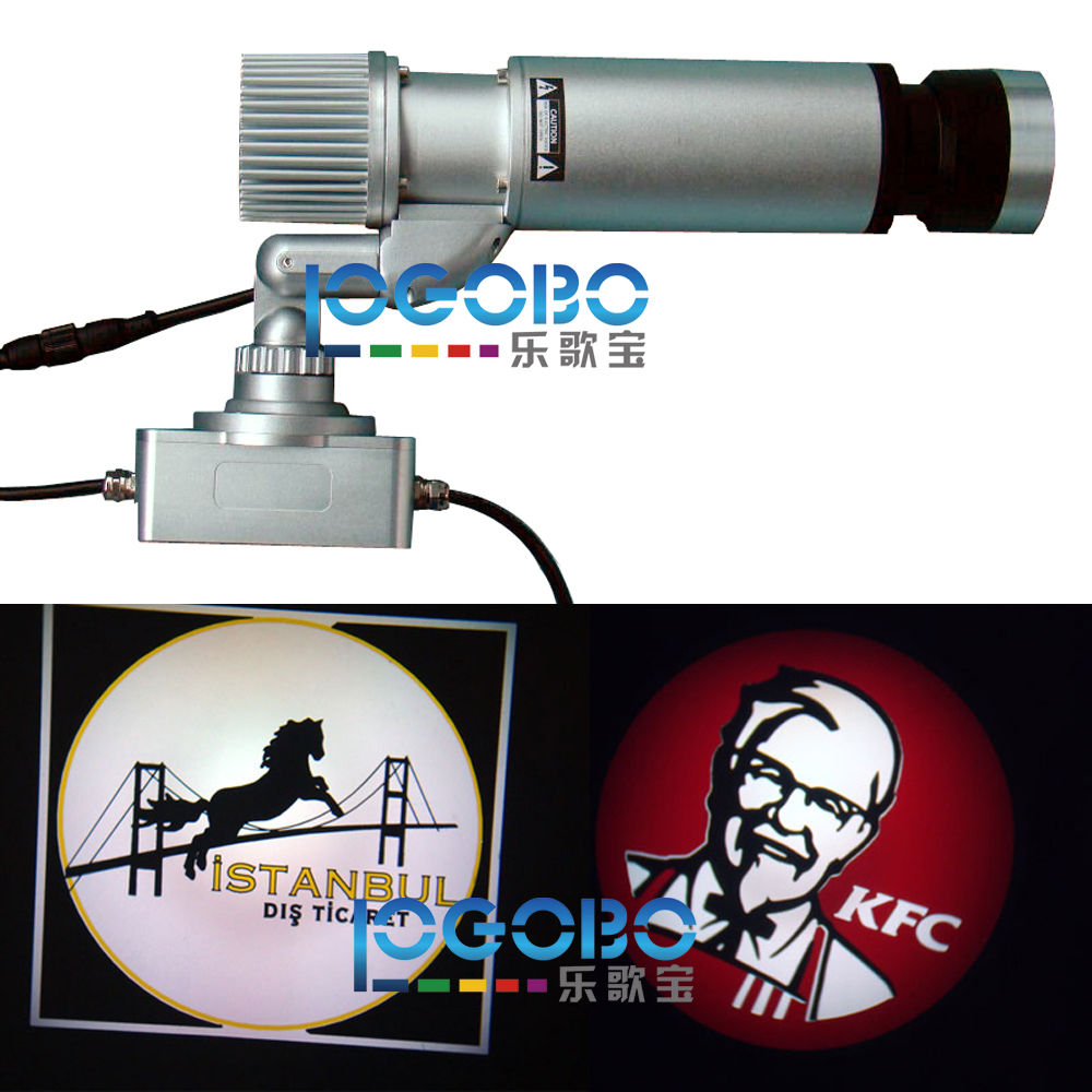 Free Shipping 20W Luca Custom Led Gobo Projectors Light for Advertising Led Business Word Pattern Logo Sign Image Projection