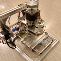 Free DHL 1 PC Diy CNC Engraving Machine Working Area130 100 40mm PCB Milling Machine CNC
