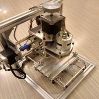 Free DHL 1 PC Diy CNC Engraving Machine Working Area130 100 40mm PCB Milling Machine CNC