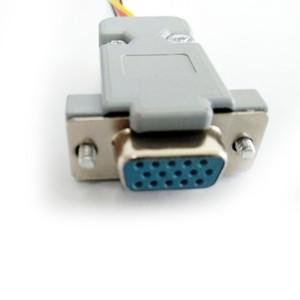 Image 4 - Direto Da fábrica AHD41 4 em 1 Placa de Conversor de Sinal De Vídeo HD CVI TVI AHD sinal CVBS para HDMI placa de conversor de sinal CVBS VGA