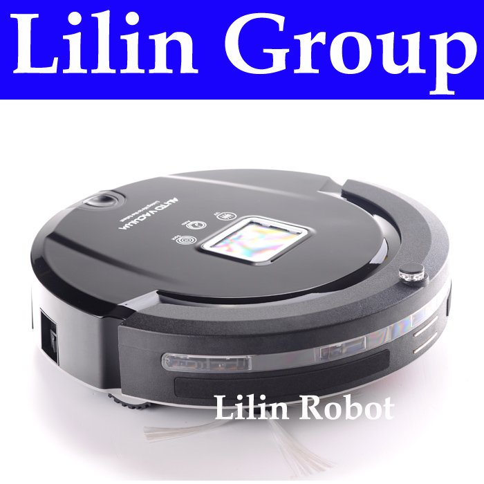 (Free to Singapore) 4 In 1 Multifunction Robot Vacuum Cleaner (Sweep,Vacuum,Mop,Sterilize),LCD,Touch Button,Schedule,Auto Charge