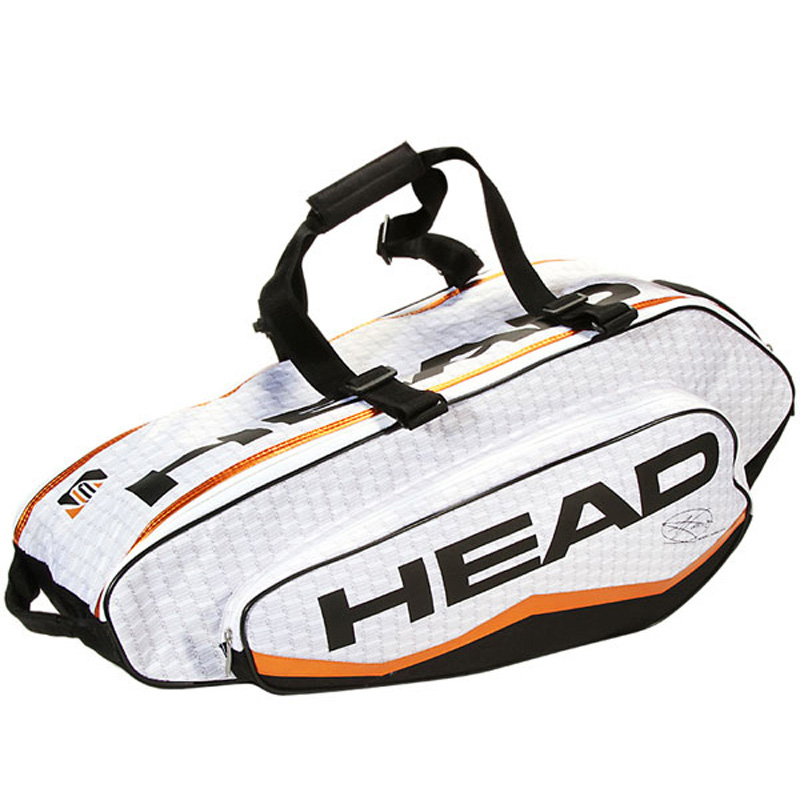 цена Head Professional Tennis Rackets Backpack Hand Carry Bag Novak Djokovic Shoulder Bag For 6~8 PCS of Rackets In Large Capacity
