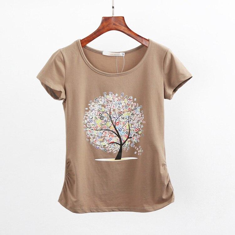 HTB1ilQrQpXXXXXuapXXq6xXFXXXn - Summer clothing short-sleeve T-shirt female casual shirts
