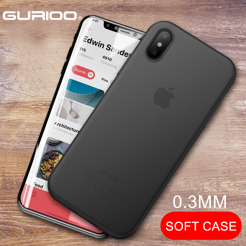 Original NEW Case for iPhone XR XS Max Cases Ultra Thin PP