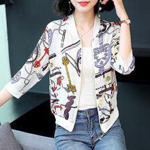 New Fashion Female Girls Summer Autumn Thin Type Temperament Zipper Small Jackets Coats