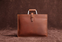купить Men's Briefcase Satchel Bags For Men Business Fashion Messenger Bag 13 inch Laptop Bag по цене 6203.16 рублей