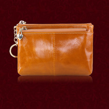 ONEFULL NEW HIGH QUALITY women wallets genuine leather brand cowhide short wallet coin purse key wallet women zipper contact s brand genuine leather women wallet zipper