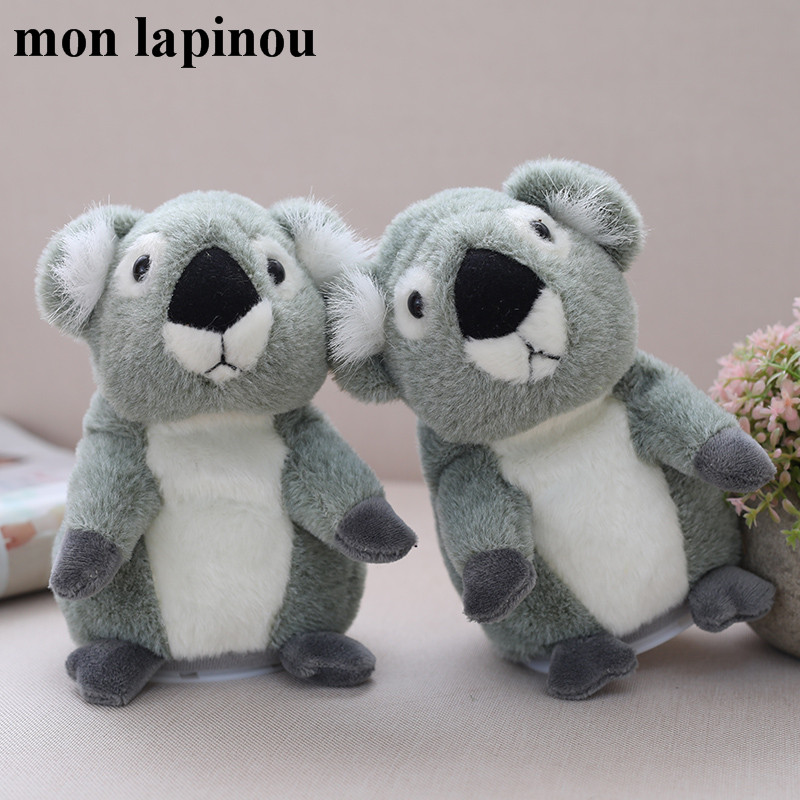 Mon Lapinou 18cm Talking Koala Plush Toy Speak And Repeat Stuffed Electric Animal Soft Doll Electronic Koala Plush Baby Kids Toy ...