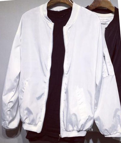 Popular Ladies Black and White Bomber Jackets-Buy Cheap Ladies ...