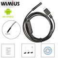 Wimius 8.5mm Boroscopio Endoscopio Android Full HD 720 P USB 2.0 Cable 6LED 2MP Impermeable Mini Cámara de Inspección Del Tubo cámara 5 M/7 M