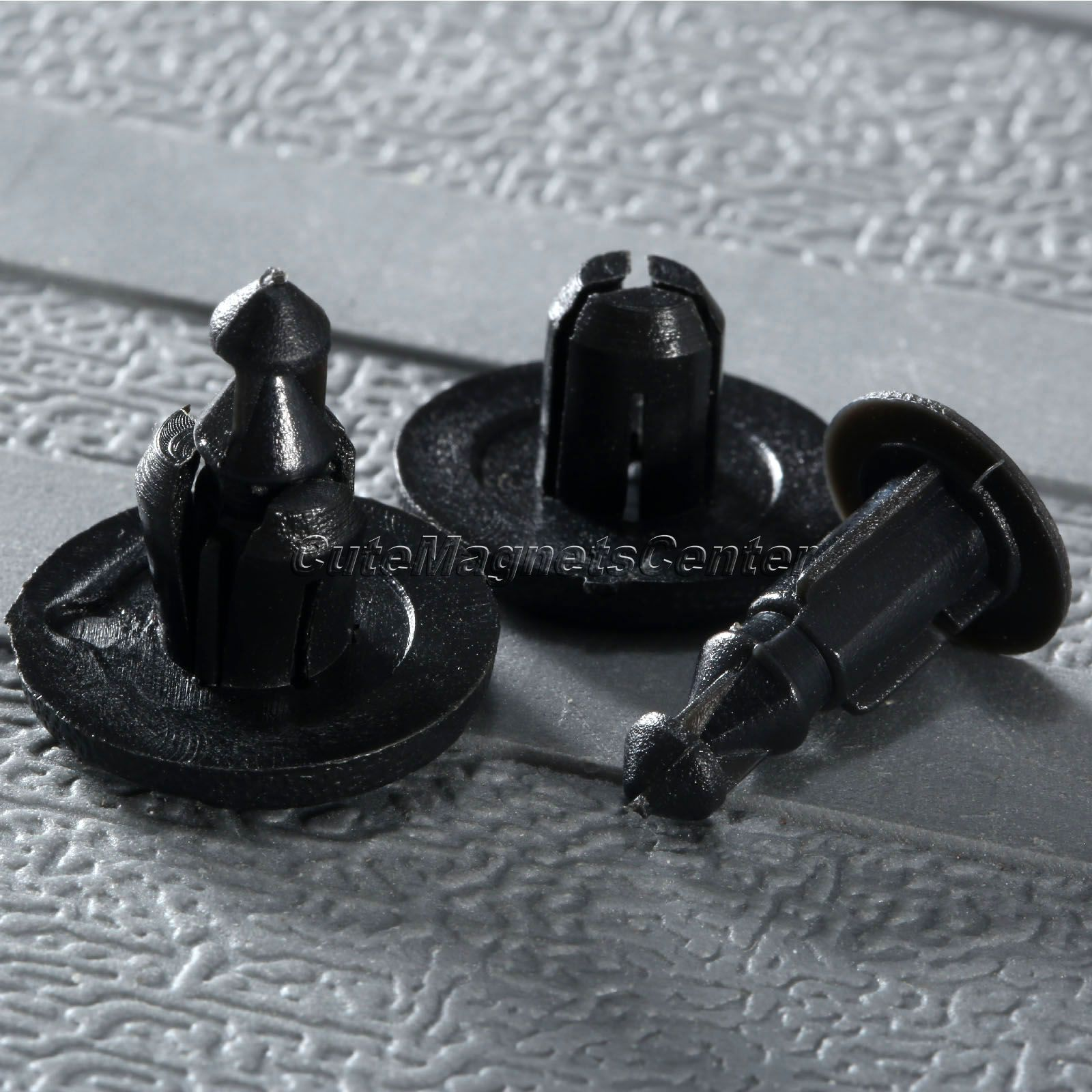 50Ps 8mm Hole Cowl Bumper & Fender Liner Clips de tipo de empuje para - Accesorios de interior de coche - foto 4