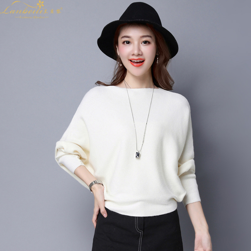 Pure Color Womans Sweater Knitted Korean Style Women Pullover Casual Ladies Thin Sweaters Womens Tops And Blouses Clothing 4
