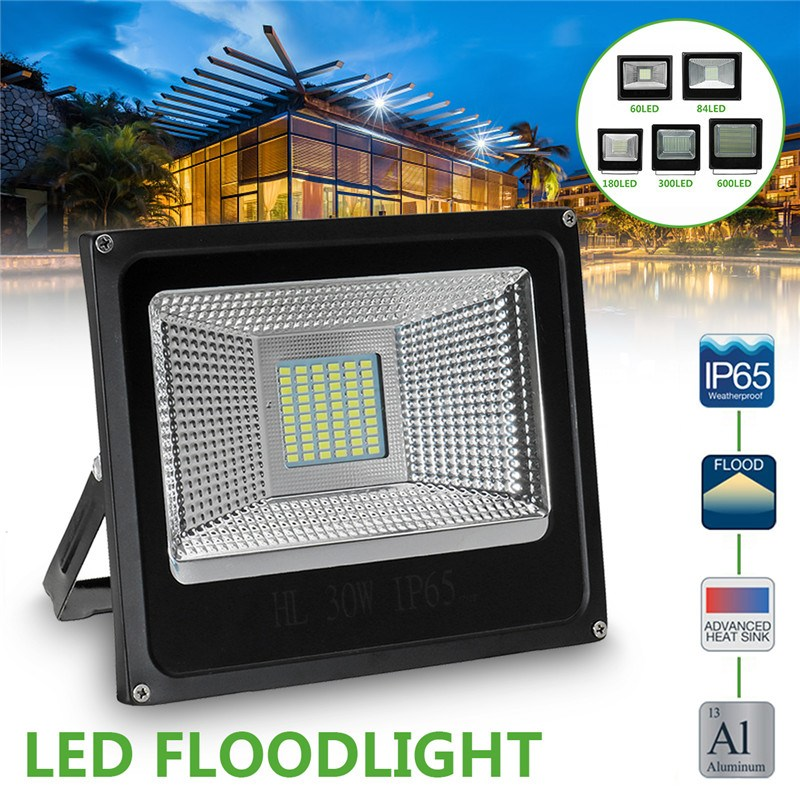 LED Flood Light 30/50/100/150/200W Floodlight IP65 Waterproof 180-265V LED Spotlight Refletor LED Outdoor Lighting Gargen Lamp led flood light 200w ip65 waterproof ac85 265v led spotlight refletor outdoor lighting led floodlight garden lamp landscape