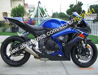 Лидер продаж, для Suzuki GSX R 600 750 K6 2006 2007 GSXR 600/750 06 07 синий черный Aftermarket мотоциклов обтекателя (инъекции литье)