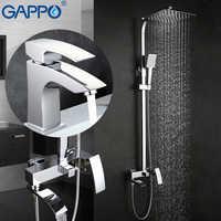 GAPPO robinets de douche mitigeur de baignoire mitigeur de baignoire robinet de lavabo en laiton ensemble de douche de pluie système de douche