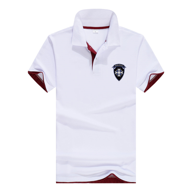 2019 Summer New Polo Shirt Men's High Quality Medal Logo Men's Cotton Short Sleeve Shirt Brand Tops Horse Jersey Polo Size S-3XL
