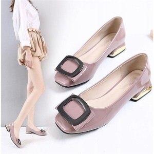 Image 3 - Máy bơm Nữ Giày Nữ Mùa Hè 2019 Mới Thiết Kế giày Cao gót Nữ với Đế 40 41 Công Việc Đen Người Phụ Nữ Thanh Lịch Giày zapatos mujer