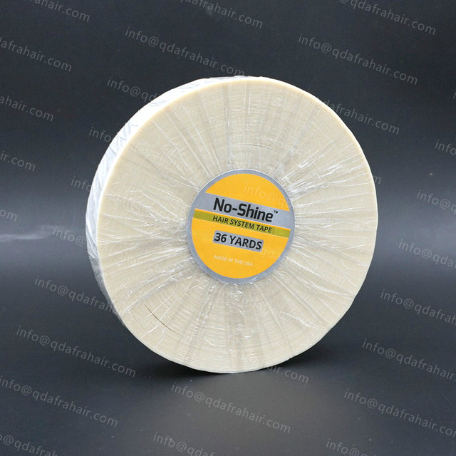 No-Shine Hair System Tape 36 Yards Made In USA Wig Glue Washi Tape Warranty Sticker Walker T020