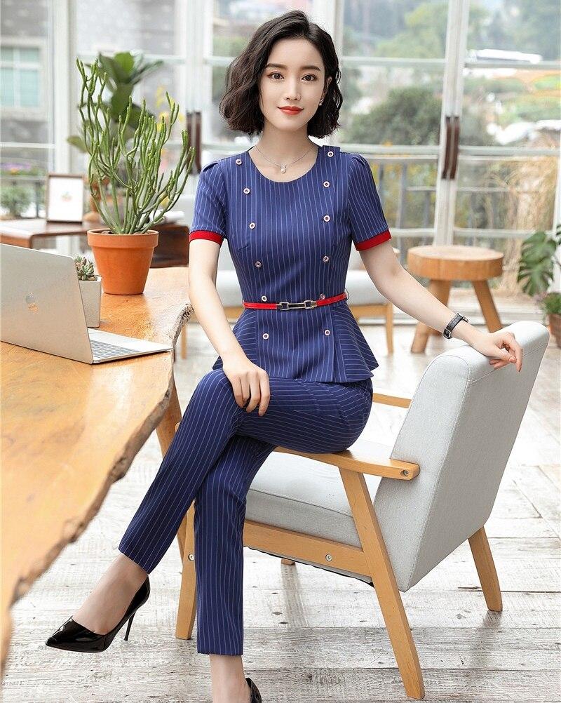 37f5cb6af738 Nuevo-2018-se-oras-de-la-moda-azul-rayas-Blazer-mujer-traje-de-negocios-con- pantalones.jpg