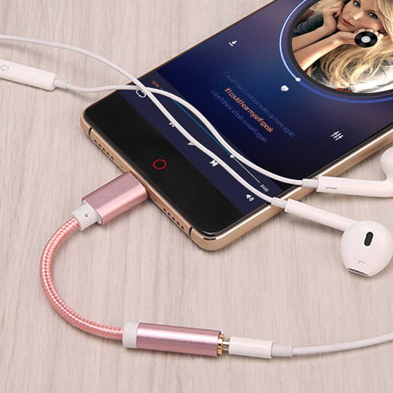 Телефонные адаптеры Тип C мм до 3,5 мм разъем для наушников Aux аудио адаптер для Xiaomi mi 8 6 mi мм X 2 Примечание 3 mi 8 mi 6 Тип c до 3,5 мм кабель
