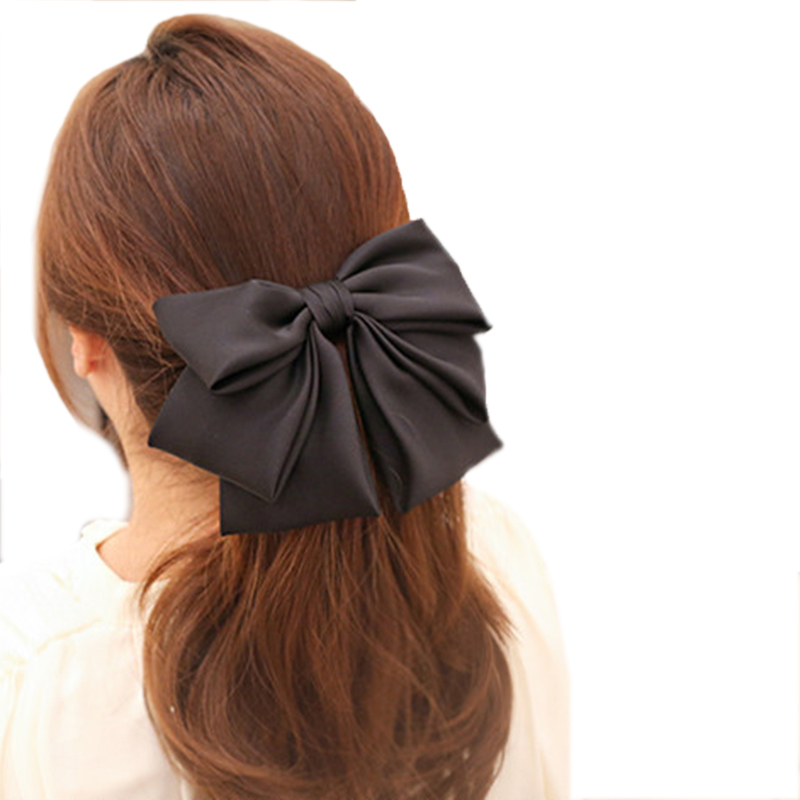 Haimeikang 2019 Candy Scrunchies Rope Bow Tie Elastic Hair Bands For Women Girls Ponytail Holder Rubber Hair Accessories