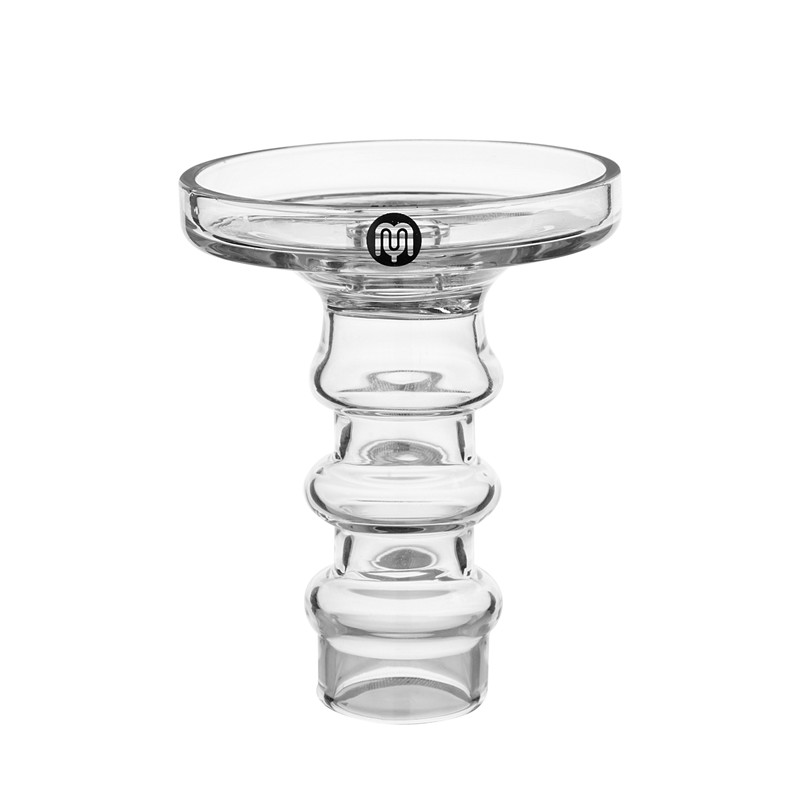 Image 2 - Yimi Hookah Premium Borosilicate Glass Universal Fit Phunnel Hookah Bowl Height 10.5cm Bowl Diameter 7.7cm-in Shisha Pipes & Accessories from Home & Garden