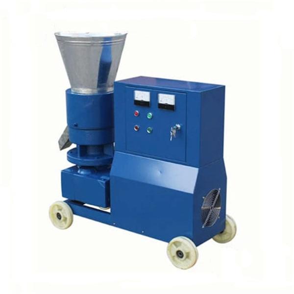 KL200C 7.5KW Biomass Pellet Machine Feed Wood Pellet Mill Machine Pellet Press With Star delta Starting