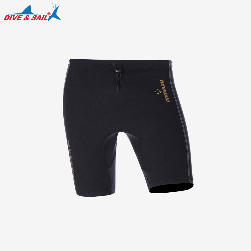 DIVE&SAIL 1MM SCR Neoprene+Lycra Wetsuits Shorts Pants Elastic Watersports Collection Diving Tight Short Swimming Diving Wetsuit