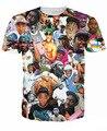 Rapper Odd future tyler o criador de impressão t-shirt hip hop mulheres / homens de manga curta camiseta