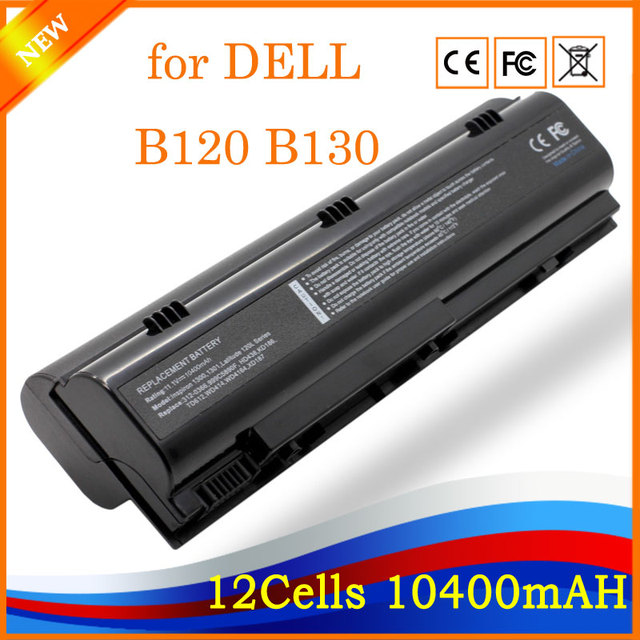 5ea2ee6f7f0 11.1V 10400mah 12cells New Laptop Battery Replacement for DELL Inspiron  1300 B120 B130 Latitude 120L