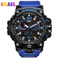 El más nuevo Estilo Relogio masculino Relojes Digitales Hombres deportes de Cuarzo Resistente Al Agua dial grande Luminosa militar relojes Hombre Reloj