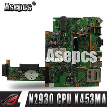 Asepcs X453MA материнская плата N2930 CPU для For Asus X453MA X403M F453M материнская плата для ноутбука X453MA материнская плата X453MA материнская плата