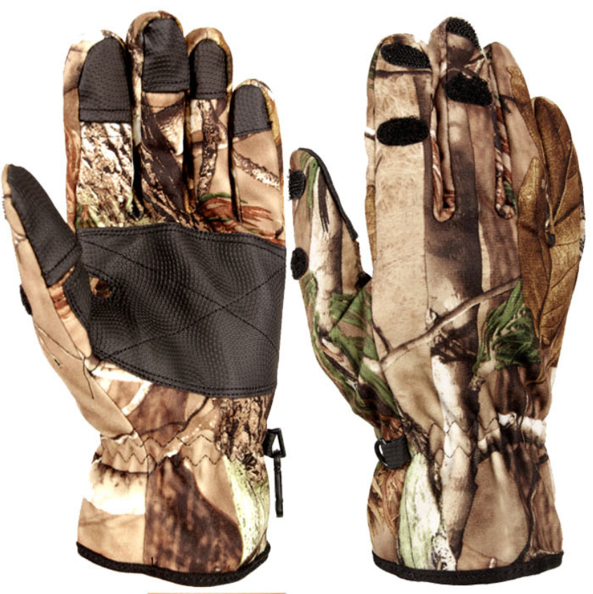 Hot Sale Remington Camouflage Full Finer Waterproof Hunting Gloves