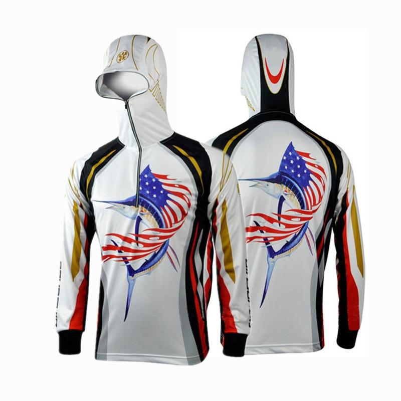 Brand Men font b Hiking b font climbing Cycling Fishing Clothes Anti UV Breathable Quick drying