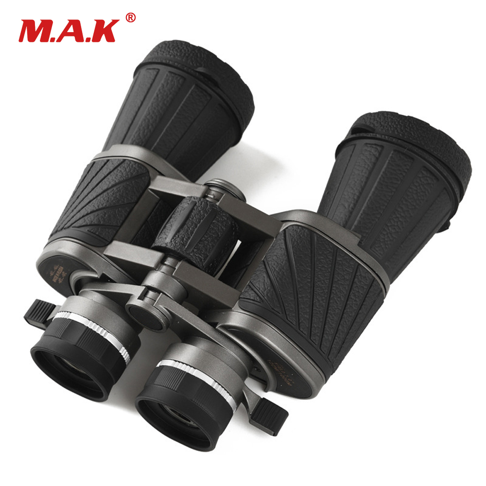 Military 10X50 Binoculars Telescope Wide-angle Light Night Vision Central Zoom Telescope for Outdoor Hunting Camping zoom binoculars 30 260x160 level light night vision adjustable telescopes for camping hiking hunting ems