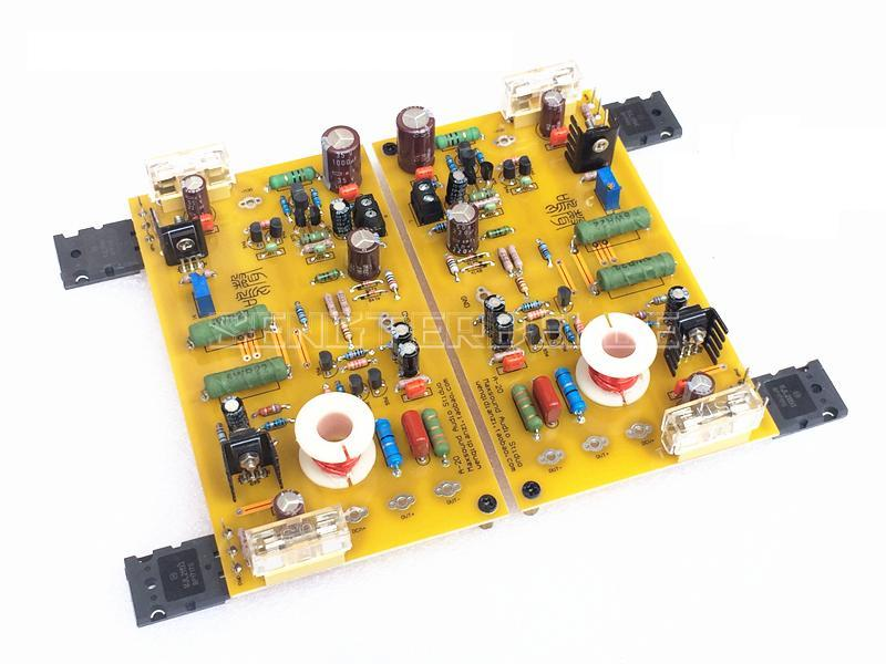 MN202 Pure Class A Power Amplifier Board Mono HIFI 30W Based on MNA Amp Circuit mini world mn202