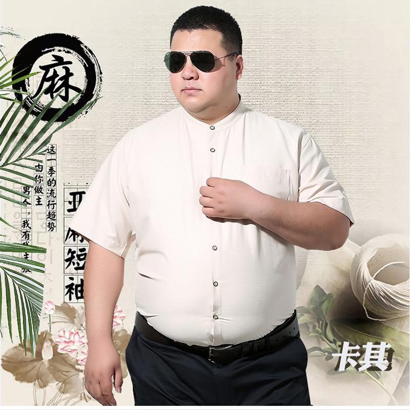 Mâle Pour Manches Robe Grande shirt Taille 2 Chemises 4 Courtes 1 Homme Top Qualité D'été Linge 8xl Décontracté Sociale 3 Chemise T 7xl wwx8COX7q