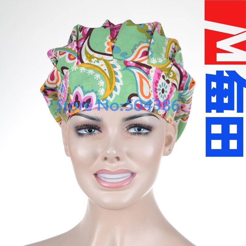 Matin Femmes Bouffant Chirurgicale Gommage Médical Chimio Chapeau Cap Hua  dan 7271b18fa58