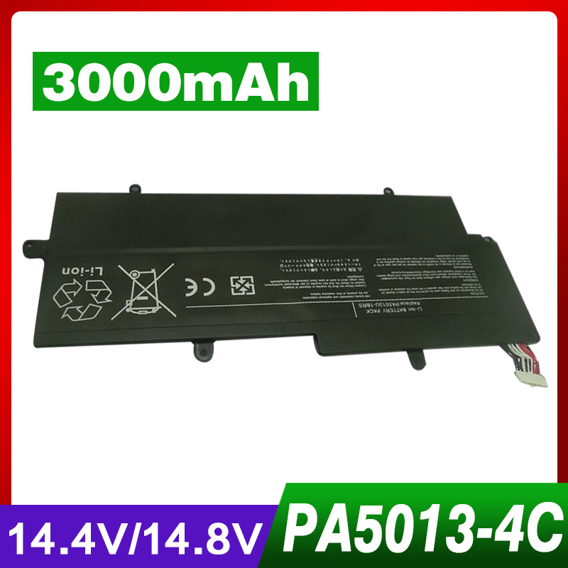 3000mAH 4 Cells NEW Laptop Battery for Toshiba Portege Z830 Z835 Z930 Z935 PA5013U-1BRS PA5013U 14 8v 47wh original laptop battery for toshiba z830 z835 z930 z935 pa5013u 1brs