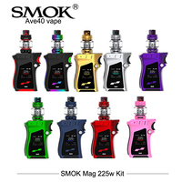 In Stock SMOK Mag Kit 225W Electronic Cigarettes Perfect Handle Vape With 8ml Big Capacity TFV12