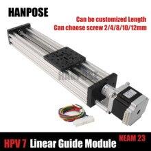 NEMA 23 2.8A шаговый двигатель HPV7 Openbuilds C-Beam линейный привод Z axis t8 ведущий винт шаг 2 мм или Reprap 3d принтер