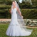 White Mermaid Wedding Dresses 2017 New Style tank V-neck Open Back Sexy Bridal Dresses wedding Gowns Vestido Noiva Dress  CGW238