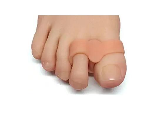 2 Pcs/lot Silicone Toe Spreader Separator Bunion Hallux Valgus Corrector Thumb Bone Correction Toe Straightener Foot Care