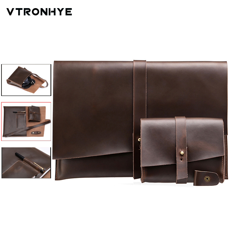 все цены на VTRONHYE 11 13 15 Vintage Laptop Case for MacBook Air 11 13 Pro Retina 13 15.4 Shockproof Laptop Sleeve for Macbook Pro 13 Case
