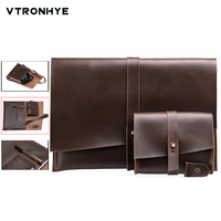 VTRONHYE 11 13 15 Vintage Laptop Case for MacBook Air 11 13 Pro Retina 13 15.4 Shockproof Laptop Sleeve for Macbook Pro 13 Case