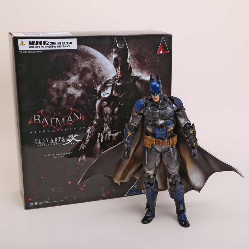 Playarts KAI Batman Arkham Batman Cavaleiro Azul Limitada Ver. PVC Action Figure Toy Collectible 28 cm