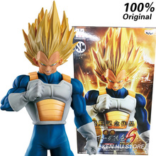 100%Original Dragon Ball Z Super Vegeta SCULTURES 6 Special version anime cartoon action & <font><b>toy</b></font> figures Collection model <font><b>toy</b></font>
