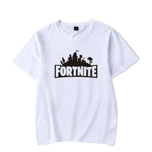 Fashion Clothing for Men Tshirt Print Fortnite T Shirts Casual Off Cotton White T Shirt Short Sleeve Black Panther T-shirts HZ11